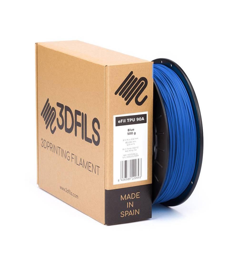 eFil TPU 90A Azul Eléctrico