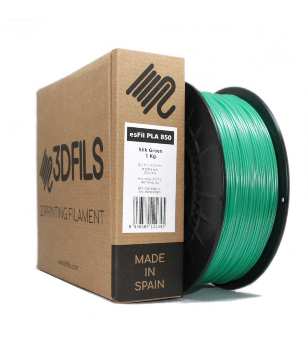 esFil PLA 850 Verde Seda