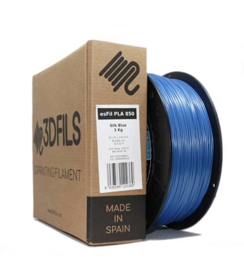 esFil PLA 850 Silk Blue