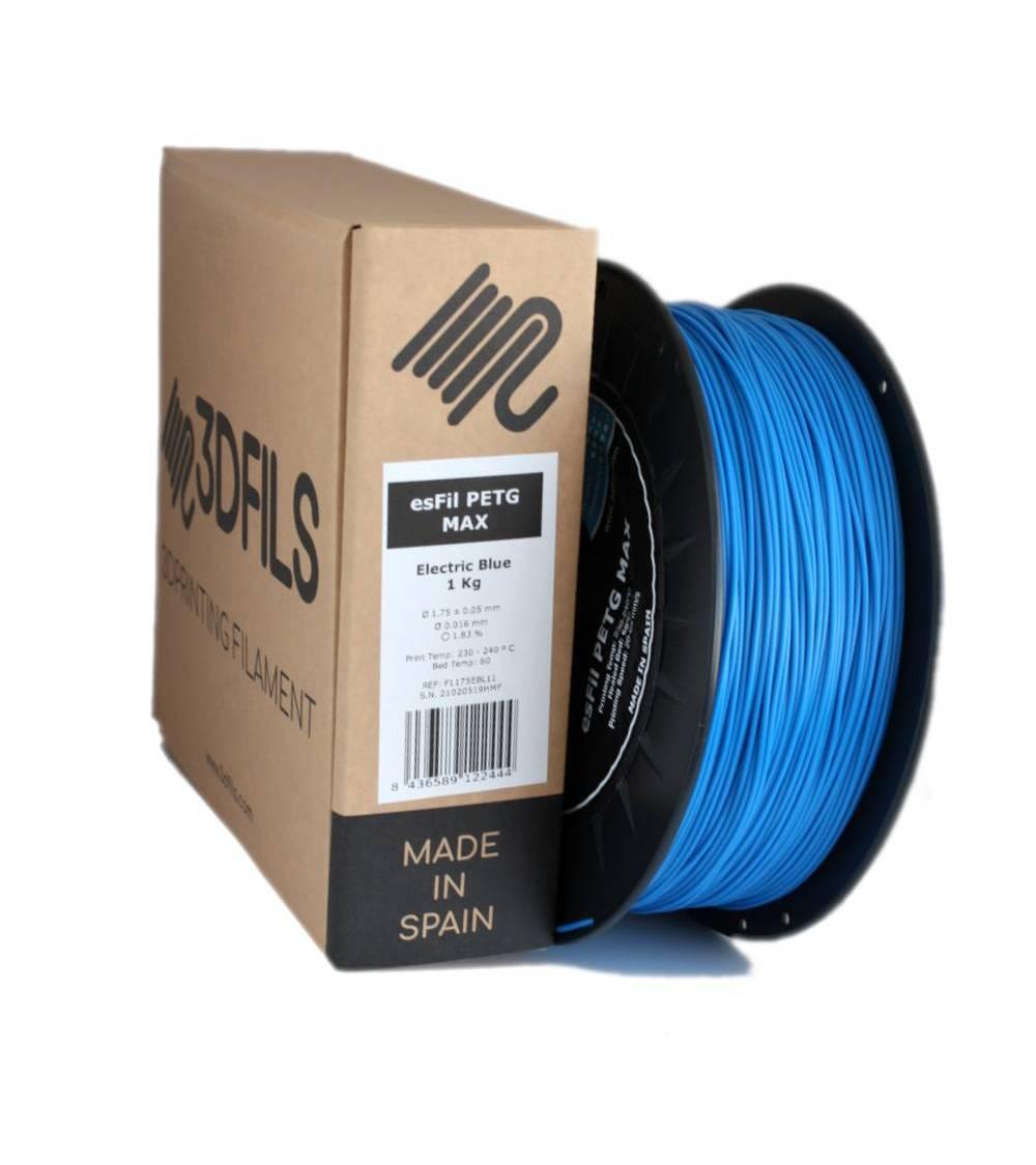esFil PETG MAX Azul Eléctrico