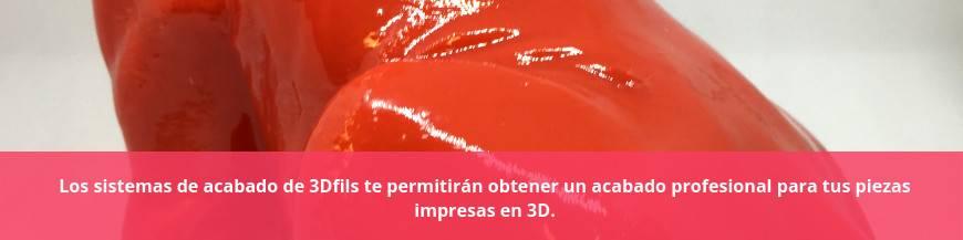 Sistemas de acabado para impresión 3D