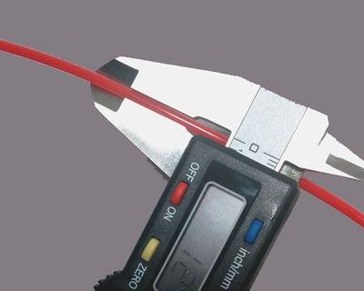 medir diametro filamento