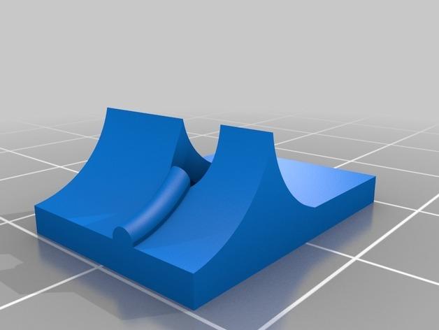 Anet A8 flexible filament adapter