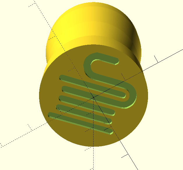 Modelo sello 3D efil