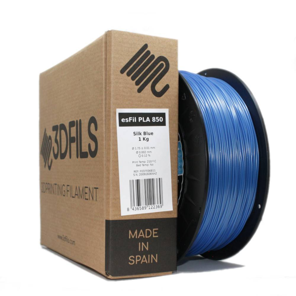 esFil PLA 850 Silk Blue